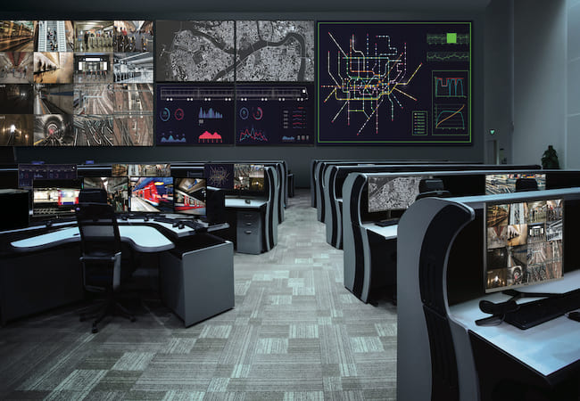 Command Center Video Wall