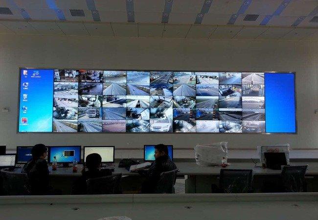 Control Room Display Screen