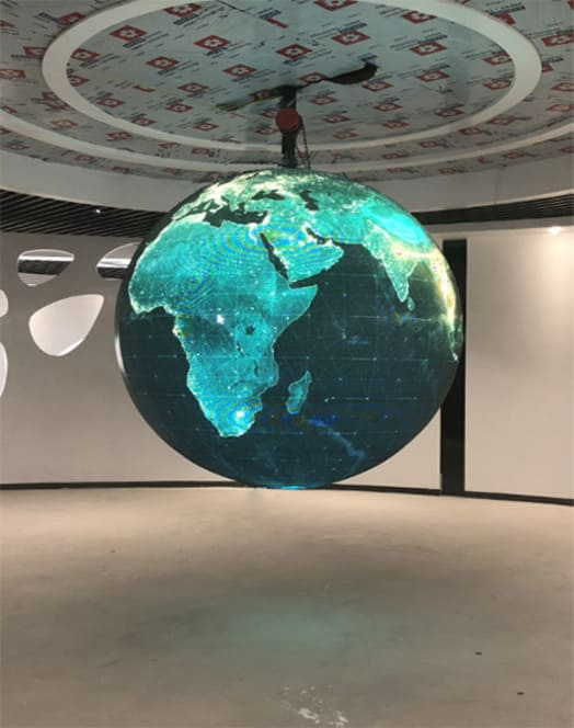 LED Ball Screen