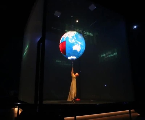 LED Display Ball In Astana