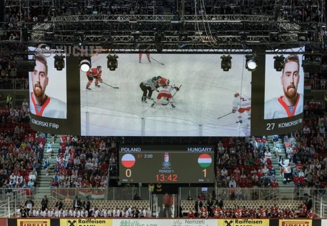 LED Screen Stadium