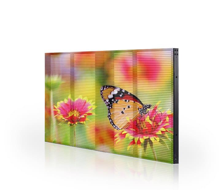 LED Transparent Display 1000x500mm Extrusion Aluminum