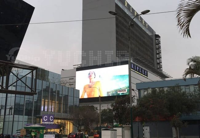 Large LED Screen Peru