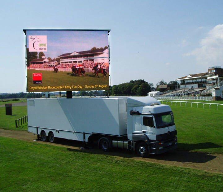 Large Trailer LED Screen