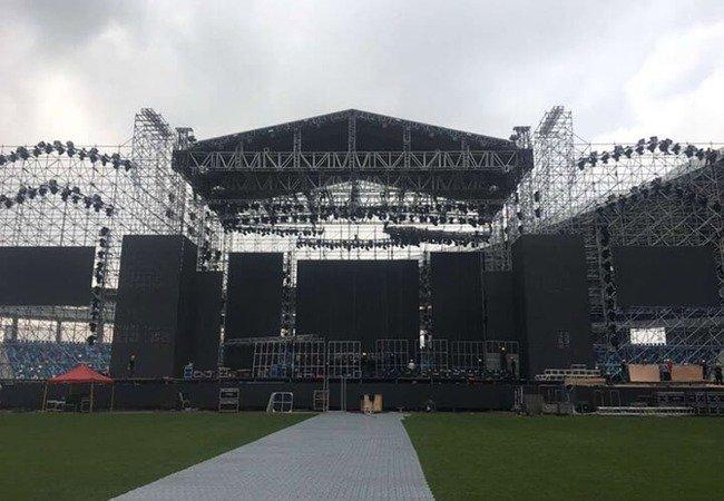 P16 LED Panel Screen Rental