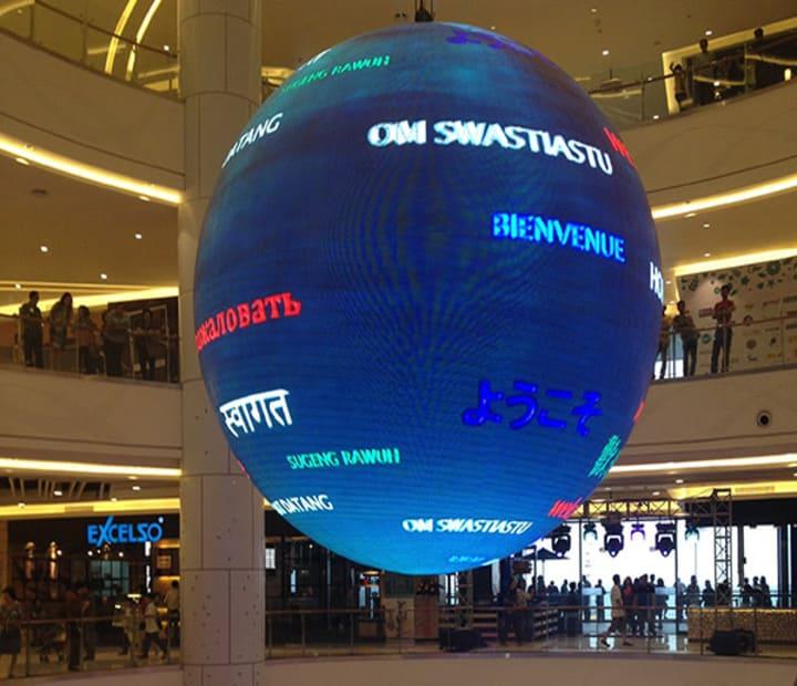 P4 LED Display Ball