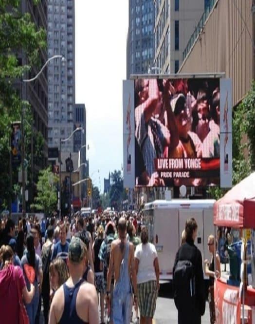 Truck LED Advertising In America