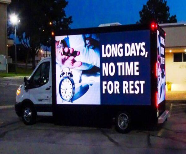 Truck LED Advertising