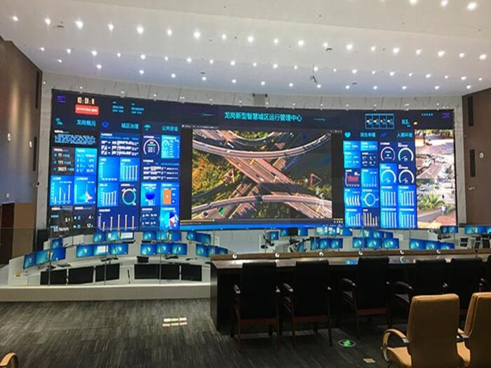 Control Room Screen Solutions, Features, And Applications
