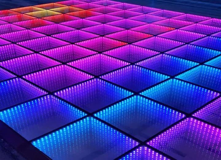 Rental LED Dance Floor