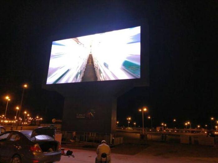 YUCHIP P10 LED Outdoor Screen In Saudi Arabia