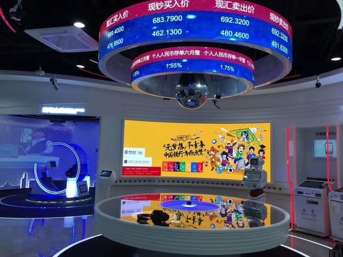 P2.5 Flexible LED Screen In Beijing A YUCHIP Project